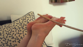 Join the site to view Finishing School: Caned Soles, Caned Bottom and all other spanking scenes