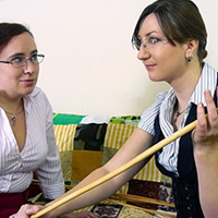 Join the site to view Ladies Caning Night and all other spanking scenes