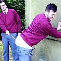 Join the site to view Caning Practice and all other spanking scenes