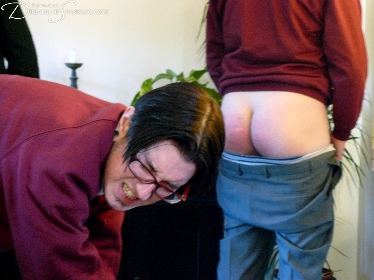 Schoolboys get the cane at Dreams of Spanking
