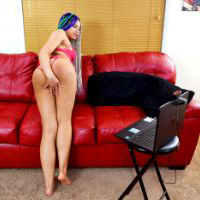Join the site to view Caught Camming and all other spanking scenes