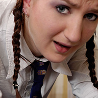 Preview thumbnail : Join the site to view Schoolgirl caught reading and all other spanking scenes