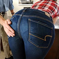 Join the site to view Naughty Niece Christy and all other spanking scenes
