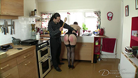 Join the site to view During the Cocktail Party and all other spanking scenes