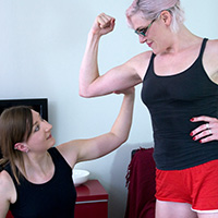 Join the site to view Contest of Arms and all other spanking scenes