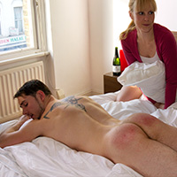 Join the site to view Corporal Punishment and all other spanking scenes