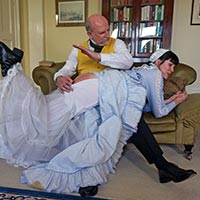 Join the site to view Mrs Barton's Correction and all other spanking scenes