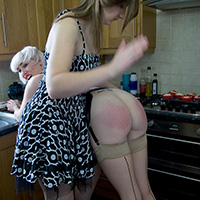 Behind the scenes photo 4 from Cupcakes at Dreams of Spanking