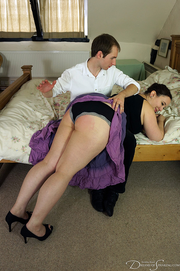 Nimue comes out as kinky to her new lover, who quickly finds his stride.