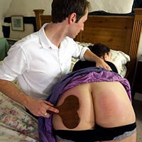Join the site to view First Date and all other spanking scenes