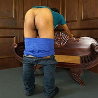 Preview thumbnail : Join the site to view Introducing David and all other spanking scenes