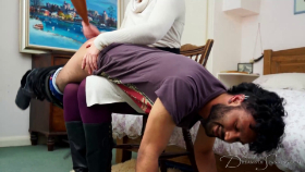 Join the site to view Defying Her Dominance and all other spanking scenes