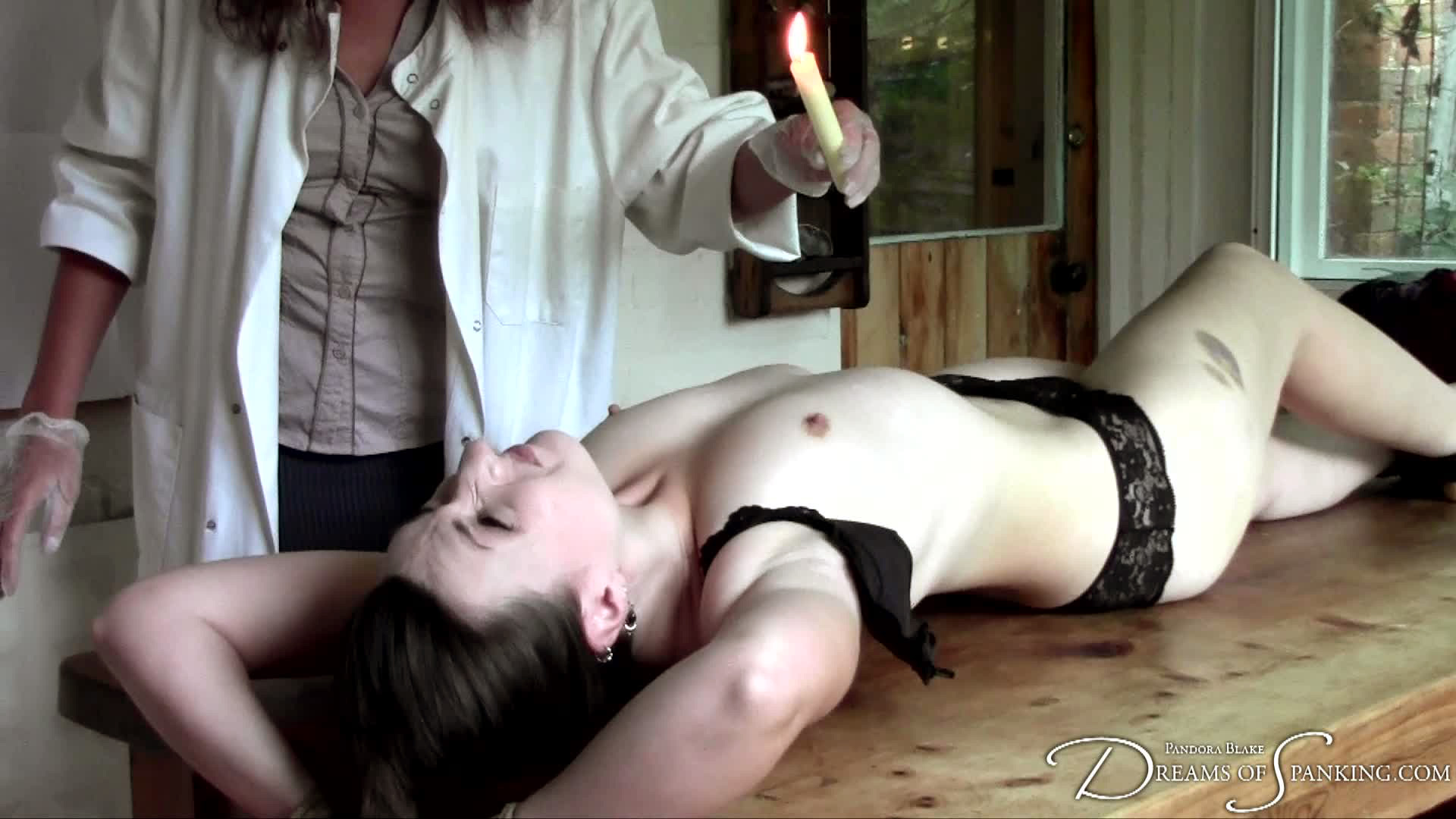 spanking naked by doctors