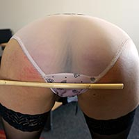 Join the site to view Donna Draper's Secretary and all other spanking scenes