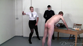 Join the site to view Drunk and Disorderly and all other spanking scenes