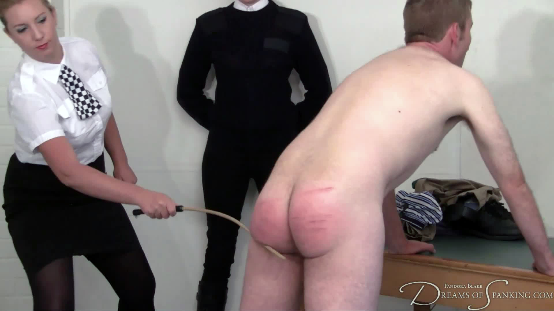 Caned by a WPC for drunk and disorderly behaviour at Dreams of Spanking
