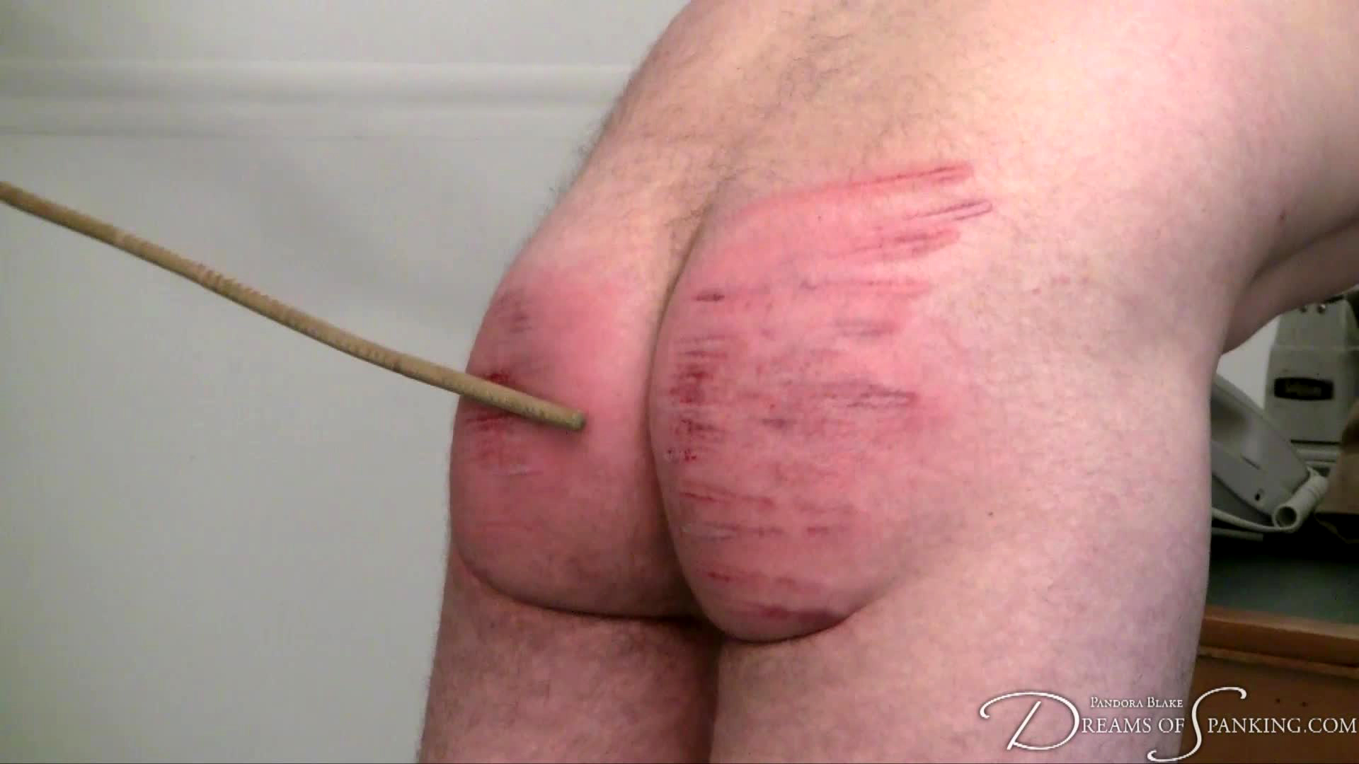 Severe judicial CFNM caning at Dreams of Spanking