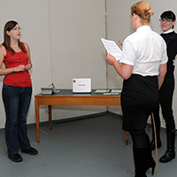Behind the scenes photo 1 from Drunk and Disorderly at Dreams of Spanking