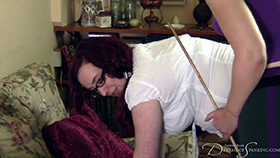 Join the site to view Essay Help and all other spanking scenes