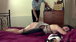 Click to view more previews of Caning Makes Me Giggle