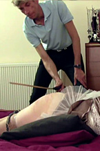 Caning Makes Me Giggle