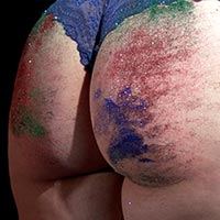 Preview thumbnail : Join the site to view Glitter Spanking and all other spanking scenes