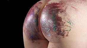 Click to view more previews of Glitter Spanking - part 2