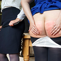Join the site to view Lady Godiva and all other spanking scenes