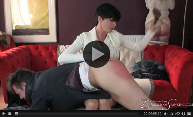 Sexy governess spank