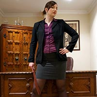 Preview thumbnail : Join the site to view The Headmistress' Study and all other spanking scenes