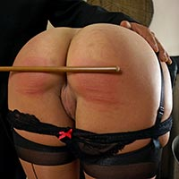 Join the site to view Day Ten of Her Training and all other spanking scenes