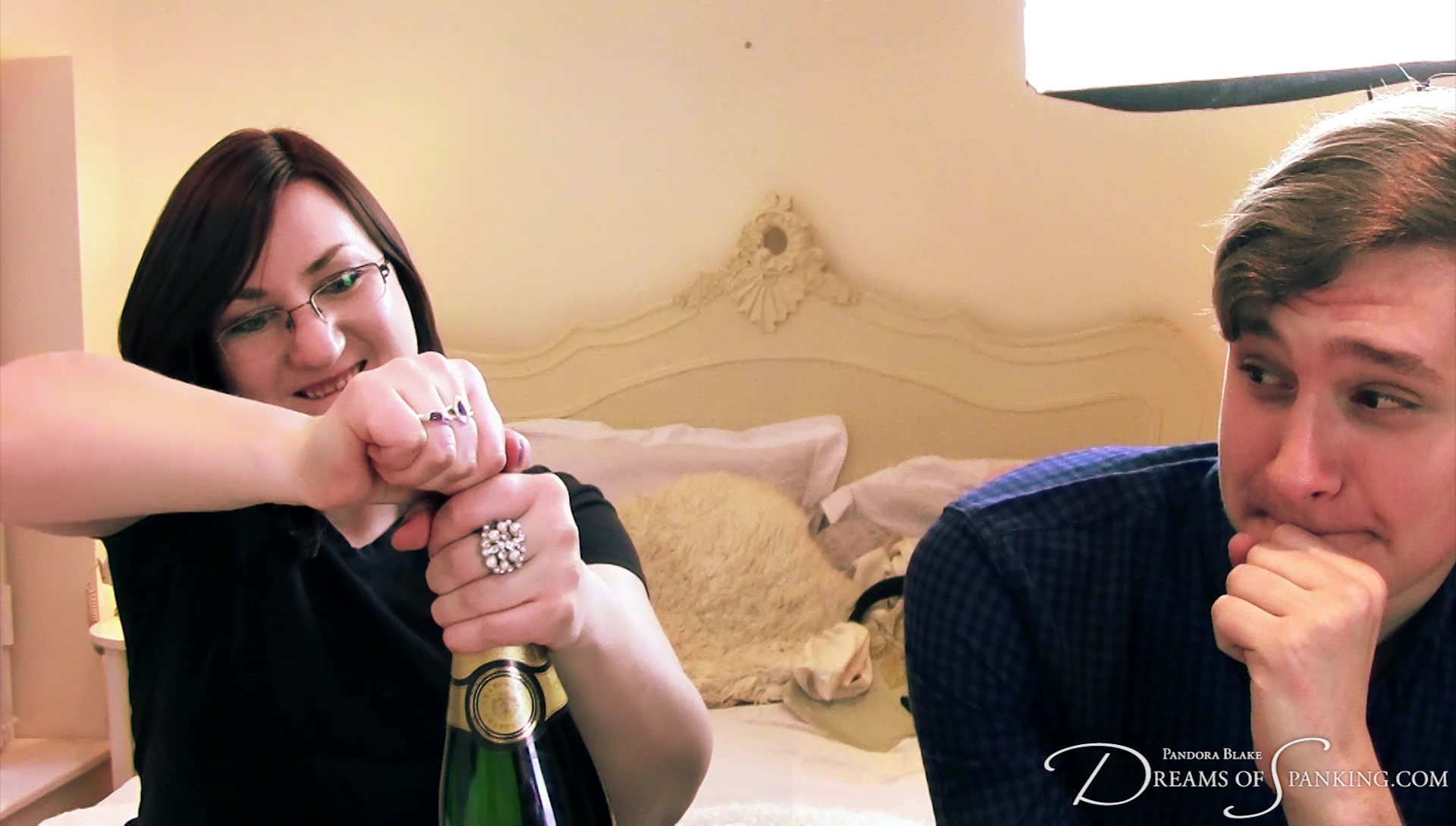 Champagne time with Tai and Pandora! Will you join us in celebrating?