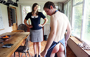 The Spanked Houseboy