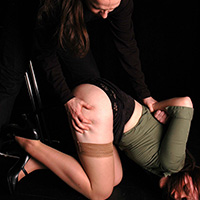 Preview thumbnail : Join the site to view Interrogation and all other spanking scenes