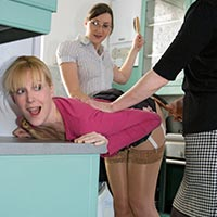 Join the site to view Intervention and all other spanking scenes