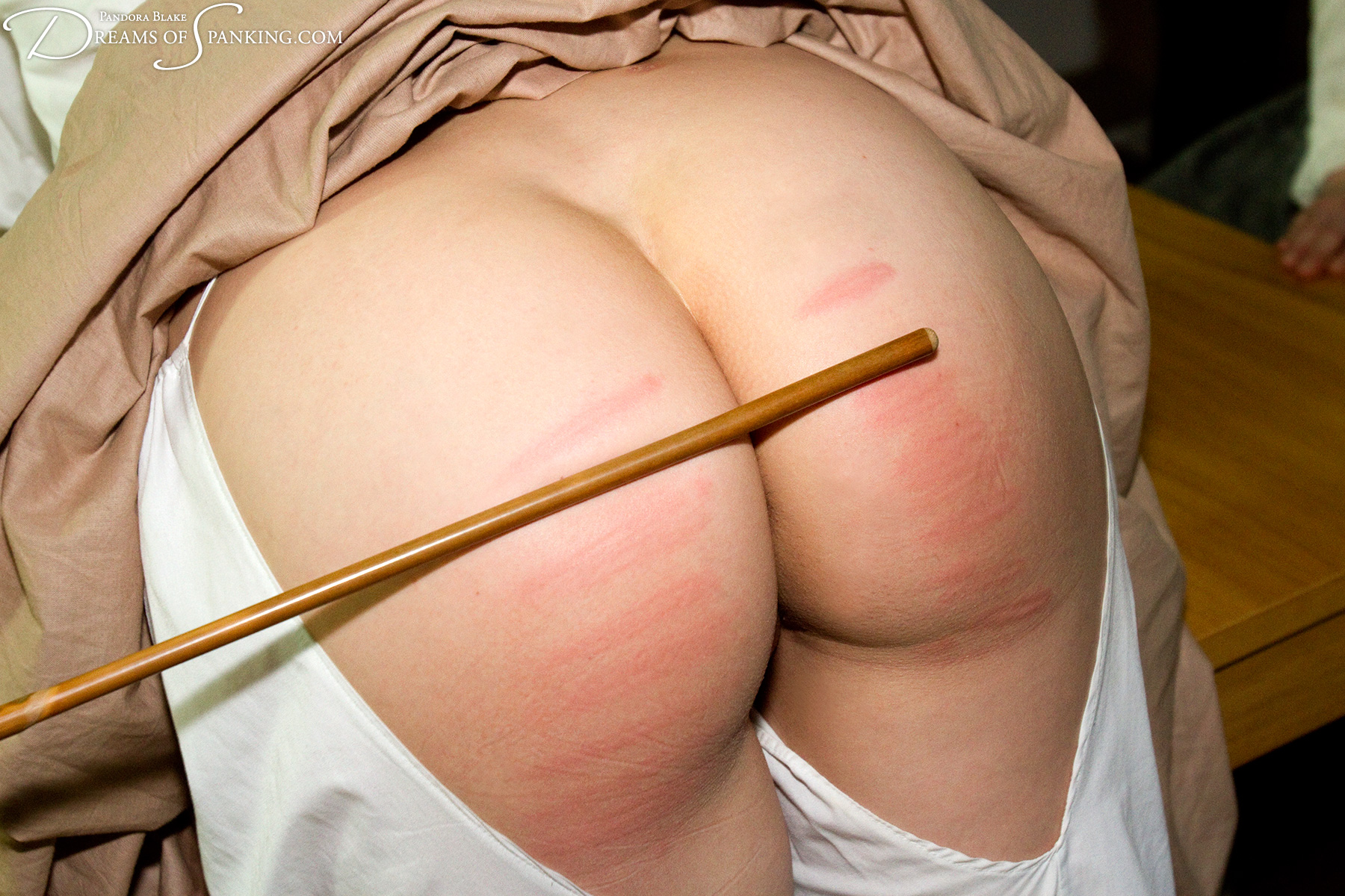 Lady Birching spank young of