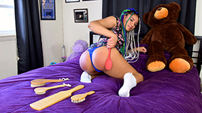 Click to view more previews of Jayda's Self-Spanking