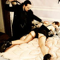 Join the site to view Liberated Ladies of the Jazz Age and all other spanking scenes