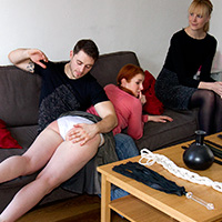 Join the site to view Kinky and all other spanking scenes