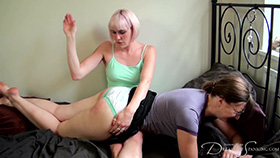 Join the site to view Late for a Date and all other spanking scenes