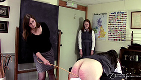 Join the site to view Leaving Day and all other spanking scenes
