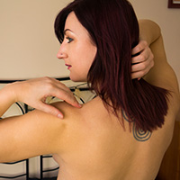 Preview thumbnail : Join the site to view Lingerie Striptease and all other spanking scenes