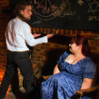 Behind the scenes photo 2 from The Magician's Apprentice (part 1) at Dreams of Spanking