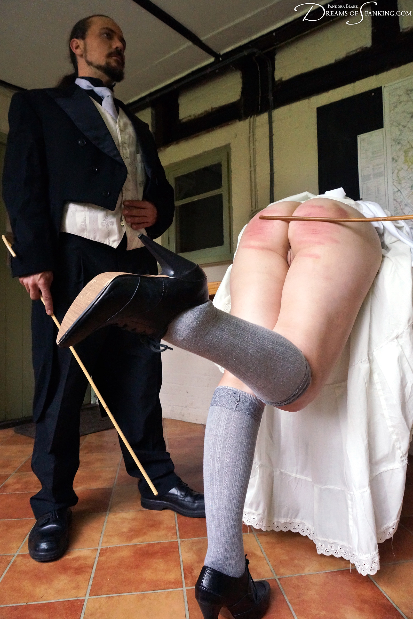 The maid is severely punished for stealing from her employers