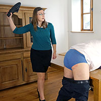 Join the site to view Maintaining Discipline and all other spanking scenes