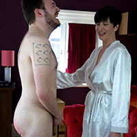 Behind the scenes photo 2 from Marital Discipline at Dreams of Spanking