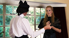 Join the site to view Mrs Smith's Method and all other spanking scenes