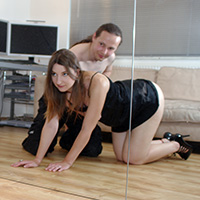 Preview thumbnail : Join the site to view Mirror Mirror and all other spanking scenes