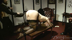 Join the site to view The Morpheus Club: Pandora's Initiation and all other spanking scenes