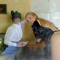 Join the site to view Mrs Smith's Method - Behind the Scenes and all other spanking scenes